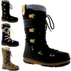 Womens Tecnica Original Moon Boot Monaco Felt Waterproof Mid Calf Boots UK 3-8