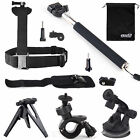 EEEKit for Action Sports Camera Shoulder/Wrist Strap Mount+Tripod/Selfie Monopod
