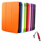 MAGNETIC LEATHER HARD BACK CASE SMART COVER FOR LG G PAD 10.1 TABLET + STYLUS R