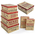 MERRY CHRISTMAS GIFT BOX SET DO NOT OPEN UNTIL 25TH DECEMBER XMAS PRESENTS BOXES