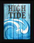 High Tide Susan Ball 16x12 Ocean Waves Sign Framed Art Print Picture Wall Decor