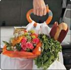 Easy Portable Food Machine Handle Carry Bag Hanging D Ring Shopping Helper Tools