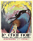 Fashion Lady Le Chat Noir Black Cat France French 16