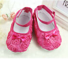 Baby Shoes Lace soft sole shoes  Roses princess shoes Sweet