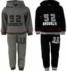 Boys Jogging Suits Tracksuits Hoodie Top & Joggers Kids Clothes Ages 3-11 Years