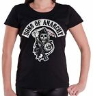 Sons of Anarchy - T-Shirt Reaper - Femme - Licence officielle