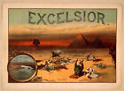Photo Print Vintage Poster: Stage Theatre Flyer Excelsior 01