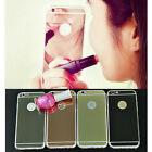 Fashion Luxury Ultra-thin Mirror Transparent Clear TPU Case Cover For iPhone 5 6