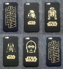 New Gold Design Star Wars Character Hard Case For iPhone 5S 6S Plus 7 Plus $4.55 CAD