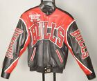 Chicago Bulls Handmade Lambskin Leather Jacket MADE IN USA By JH Design New