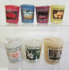 Village Candle Small Wax Votive Candle 7 Scents To Choose From- Great Price!