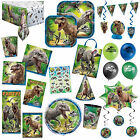 Jurassic World Park Children's Birthday Party Plates Napkins Tableware Listing