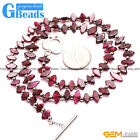 Natural Gemstone Garnet Beads Handmade Jewelry Necklace Multi Size & Shape