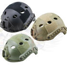 NEW BF AIRSOFT TACTICAL FAST STYLE PJ HELMET,BLACK,TAN,GREEN DIAL ADJUST SYSTEM