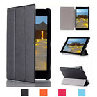 Ultra Thin Multi-Angle Stand,Tri-Fold PU Leather Case For Fire HD 8 2015 Case