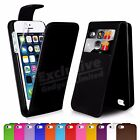 New Flip Wallet Leather Case Cover For Apple iPhone 5S 5 Screen Protector