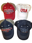 NEW Patriotic USA United States of America Est. 1776 Adult Mens One Size Cap Hat