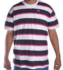 Ecko Unltd. Men's Better Black Stripe V Neck Tee Shirt