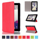 """Tri-Fold Leather Stand Case Cover for Amazon Kindle Fire 7"""" inch 2015 US Stock"""