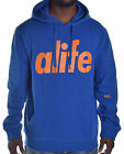Alife Men's Victory Blue Bubble Pull Over Hoodie