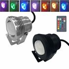 IP68 10W 12V RGB LED Light Fountain Pool Pond Spotlight Underwater Lawn Lamp