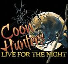 Dixie Tshirt: Coon Hunter Live For The Night Bow Hound Camo Southern Raccoon