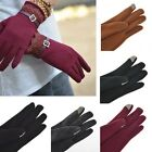 Flossy Lace Touch Screen Winter Gloves Lady Kintted Keeping Hands Warm