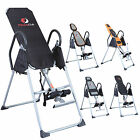 Foldable Exercise Therapy Fitness Inversion Table Chiropractic Back Reflexology image