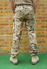 GERMAN ARMY SURPLUS DESERT TROPENTARN CAMO COMBAT TROUSERS-COTTON/FLECKTARN