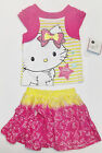 Charmmy Kitty Toddler Girls 2 Piece Skirt Set Size 3T NWT