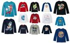 The Childrens Place Boys T-Shirt Long Sleeve Various Sz NWT