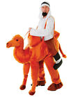 Adult Novelty Step On Ride In Nativity Play Fancy Dress Camel Costume Outfit New