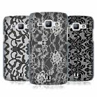 HEAD CASE DESIGNS BLACK LACE HARD BACK CASE FOR SAMSUNG PHONES 4