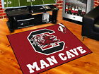 South Carolina Gamecocks Man Cave Area Rug Choose from 4 Sizes