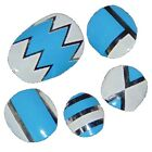 New Design LITTLE CHIX Nail Wraps Blue Chrome CHILDRENS Teens Finger Toe Foils