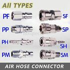 Air Line Hose C-type Quick Male Female Connector Fittings Coupler Adaptor Tools