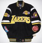 AUTHENTIC NBA LOS ANGELES LAKERS Embroidered Cotton Twill Jacket JH DESIGN