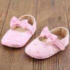 Baby Shoes Newborn Toddler Size11-13 Mary Jane With Bow girl Cute Footwear