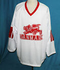TEAM DENMARK  HOCKEY JERSEY CUSTOM NAME & #     SEWN NEW ANY SIZE XS - 5XL