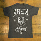 Krew Champ tee - Charcoal Casual T-Shirt New  - Size: S