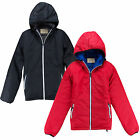 Mens Jacket Brave Soul New Reversible Padded Winter Wind Breaker Hooded Zip Coat