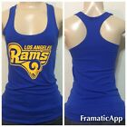 Womens Los Angeles Rams Logo Tank Top /  Football Team California $17.99 USD on eBay