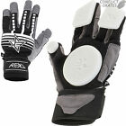 REKD Slide Gloves Skateboard Longboard BLACK Downhill Freeride Race Protection