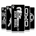HEAD CASE DESIGNS BLACK AND WHITE SOFT GEL CASE FOR SONY PHONES 1