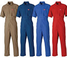 Boilersuit Dickies Lightweight Short Sleeved Cotton Overalls Coverall WD2299