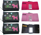Fabretti Ladies Girls soft Faux Leather Purse credit card holder Wallet