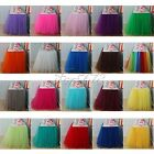 22 Colors Tulle TUTU Table Skirt Tableware Wedding Party Xmas Baby Shower Decor