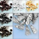 Approx 40-60Pcs Cone Filigree Normal 17x9x7mm Beads Caps DIY Findings Making