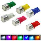 4x T10 LED Bulb for Car License Plate Dome Door Side Light Lamp 7 color Option