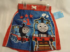 THOMAS And FRIENDS 2T Boys Polyester Swim Trunks Shorts NWT Elastic Waist